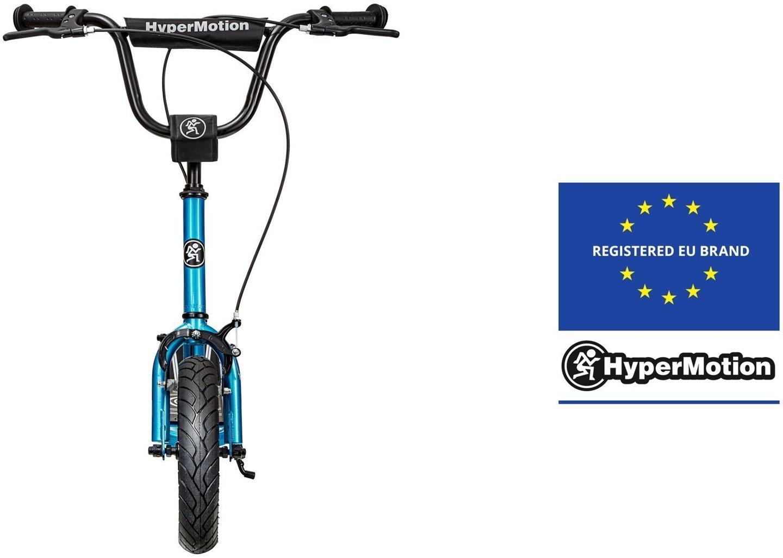 Hulajnoga HyperMotion RUBY 12 (pompowane koła 30 cm) - Niebieska