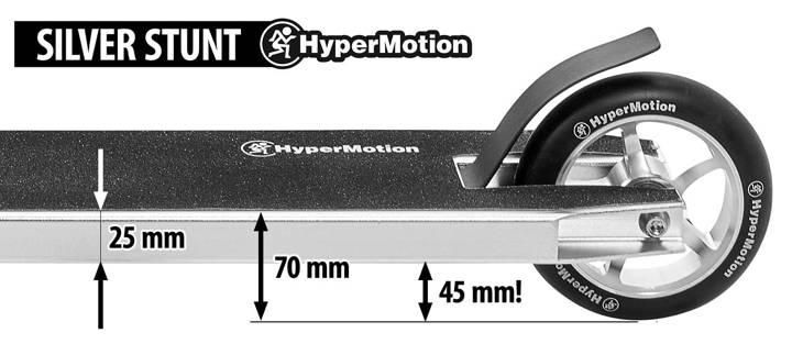 Hulajnoga wyczynowa HyperMotion SILVER STUNT