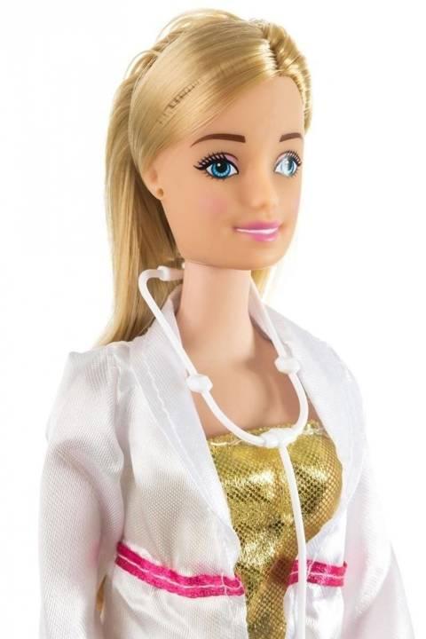 Lalka Anlily - Lekarz - blondynka