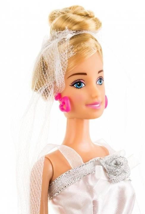 Lalka Anlily - Panna Młoda - blond