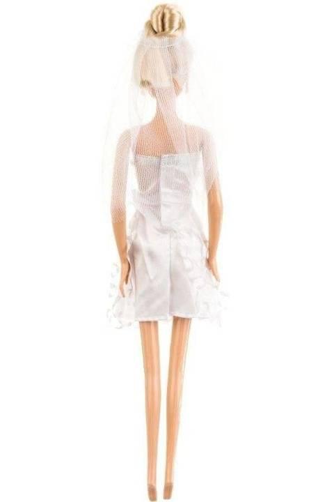 Lalka Anlily - Panna Młoda - jasny blond