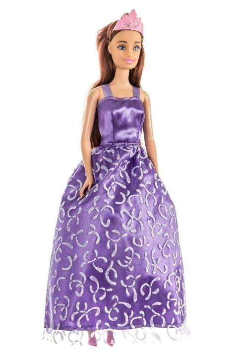 Lalka Anlily - Suknia ślubna - brunetka