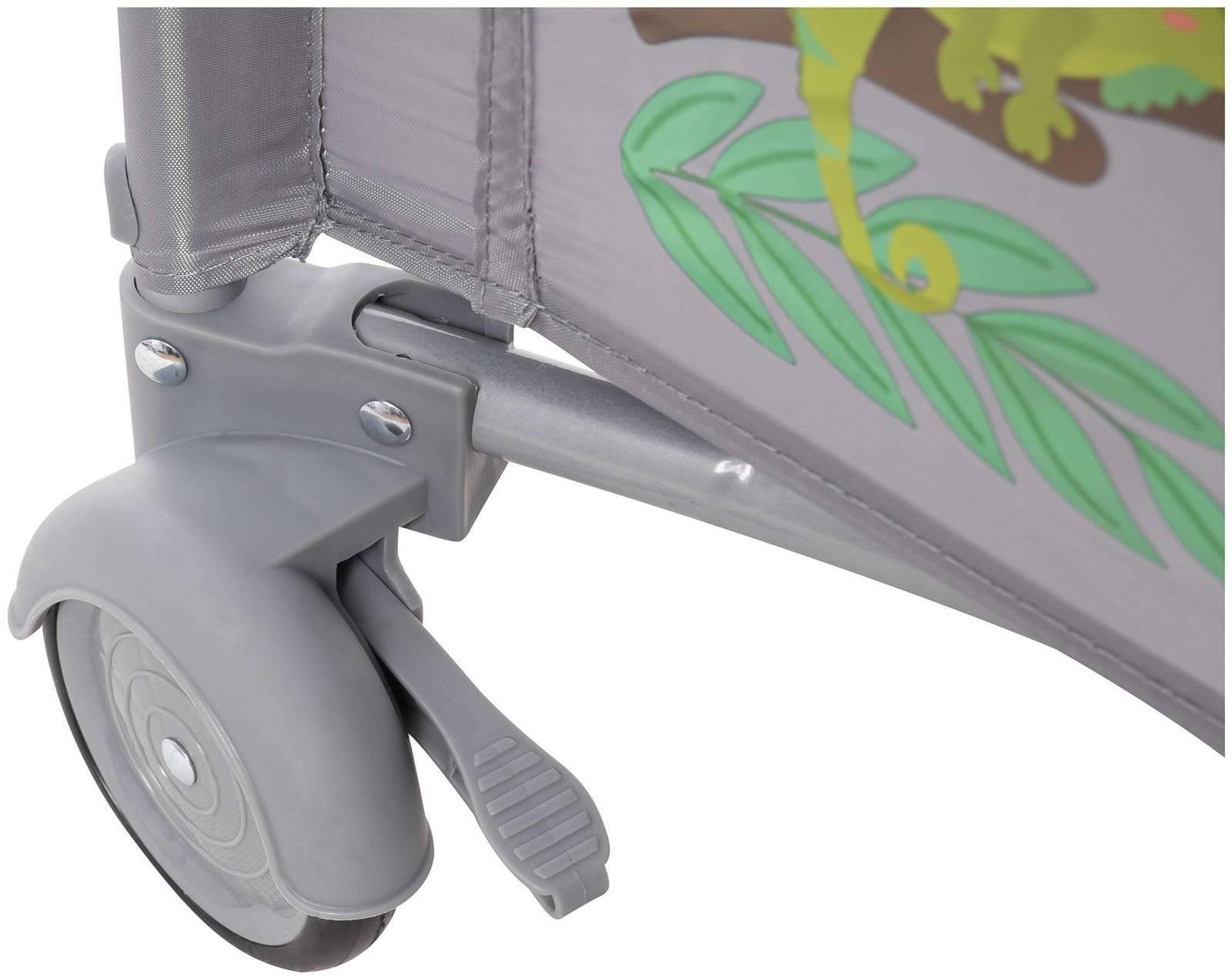 Łóżeczko turystyczne 0 - 36m z przewijakiem + Kojec Moby-System HUXLEY
