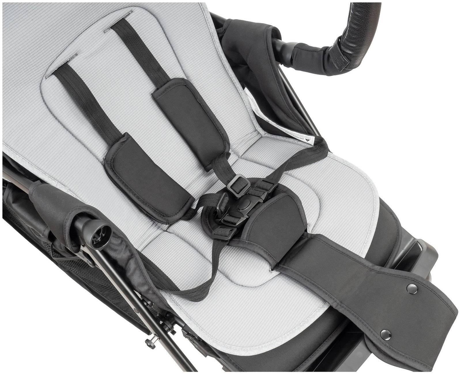 Moby-System MARGARET - podwójny wózek bliźniaczy