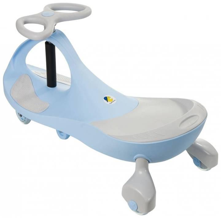 Pojazd dziecięcy TwistCar - Pastelovy niebieski Świecące kółka!