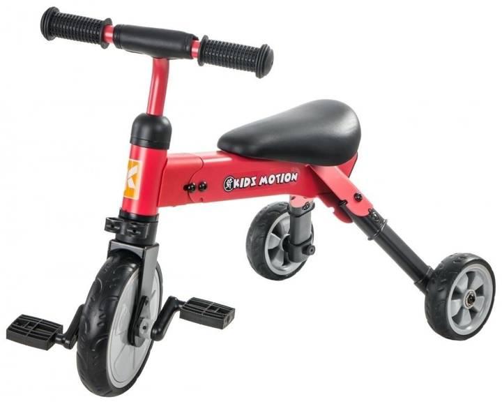 Rowerek trójkołowy Tobi Folded czerwony