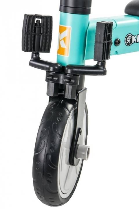 Rowerek trójkołowy Tobi Folded turkusowy